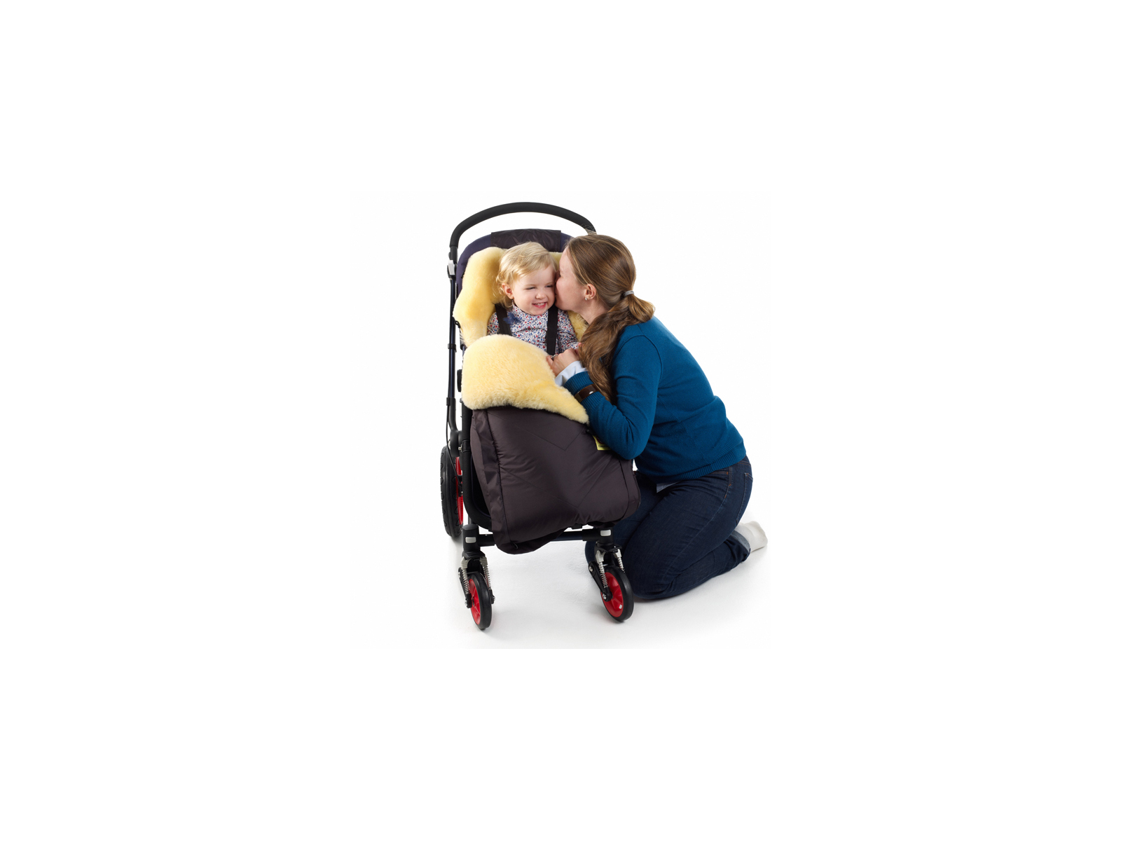 Baby-With-Mom-in-Stroller