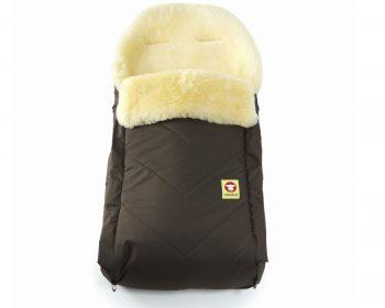 Baby Go Comfy Brown Fareskind Baby Bunting Bag
