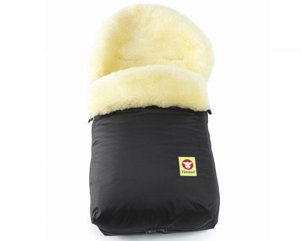 Baby Go Cozy Black Fareskind Baby Bunting Bag